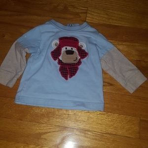 Baby boy long sleeve shirt